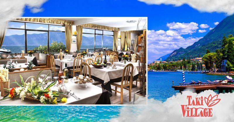 Offerta Hotel con vista panoramica a Lago di Garda - Occasione Ristorante Panoramico Taki