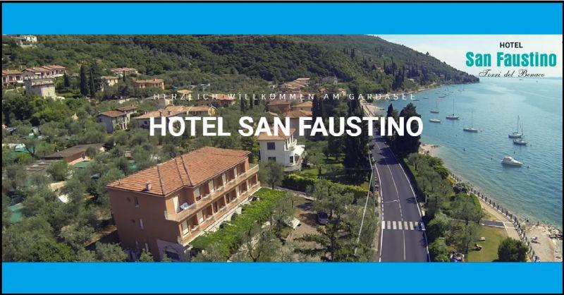 Hotel San Faustino - Ihr Übernachtung in der Nähe von Torri del Benaco Gardasee