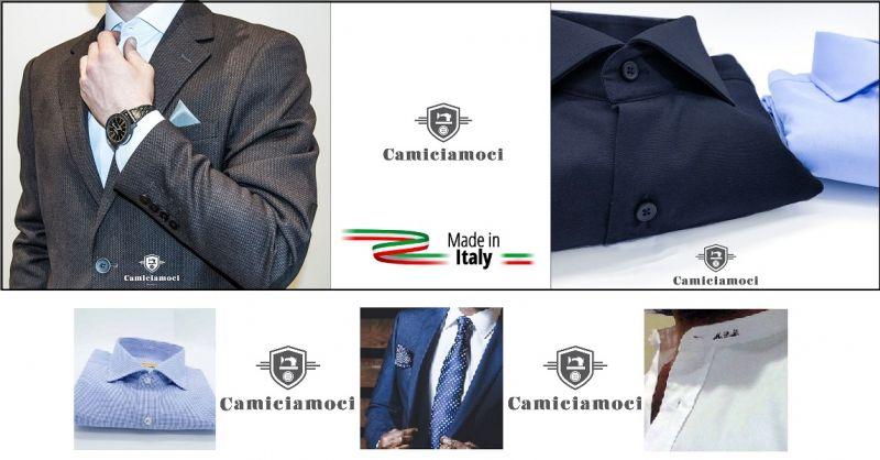 CAMICIAMOCI NAPOLI - Offerta vendita online camicie personalizzate sartoria made in Italy