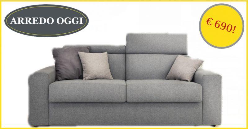 offerta divano letto 2 posti caserta - promozione divano letto con materasso 20 cm napoli