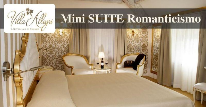 Villa Allegri - Promozione soggiorno B&B romantico in suite di lusso agriturismo Valpolicella