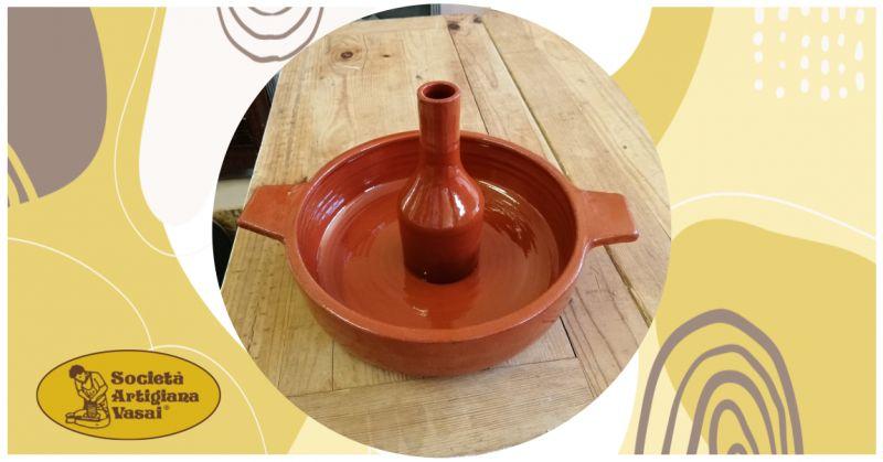 artigiana vasai - offerta vendita online cuocipollo verticale in terracotta