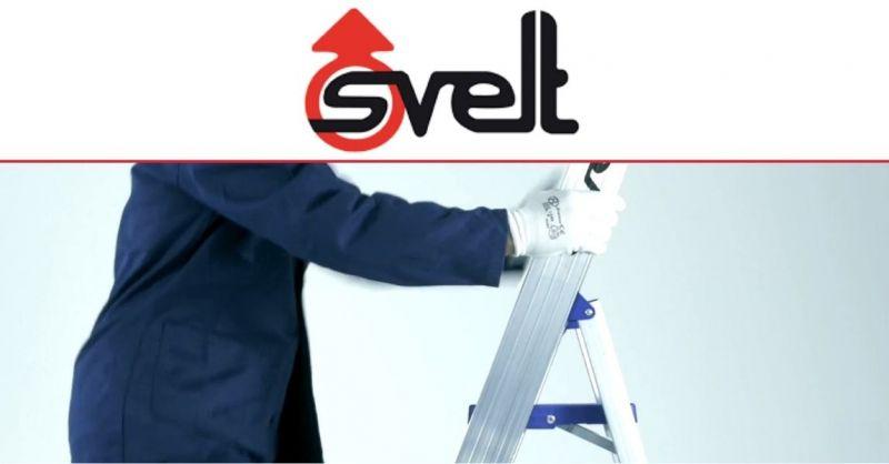 SVELT SPA - het beste Italiaanse bedrijf voor de productie van professionele ladders en steigers